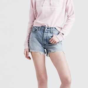⭐️NEW Levi's 501 High Rise shorts NWT - size 25